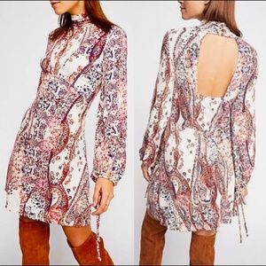 NWT Free People All Dolled Up Mini Dress Medium